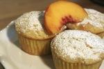 Fresh Peach Muffins