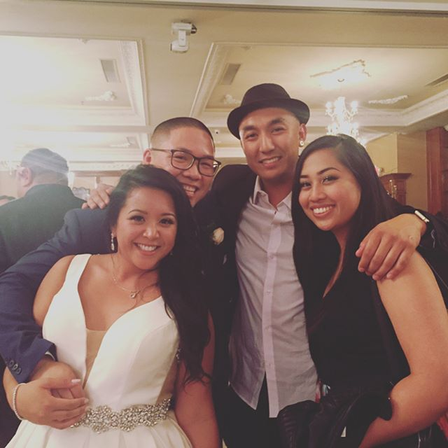 Congrats to the newly weds!