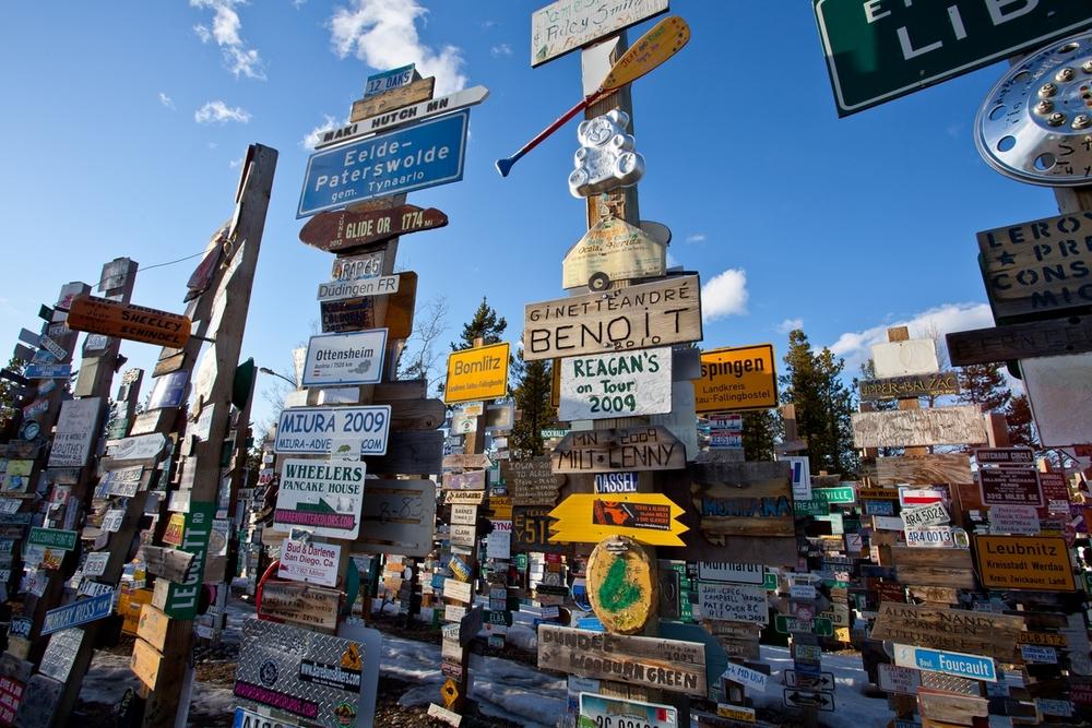 Watson Lake  -  Signpost Park