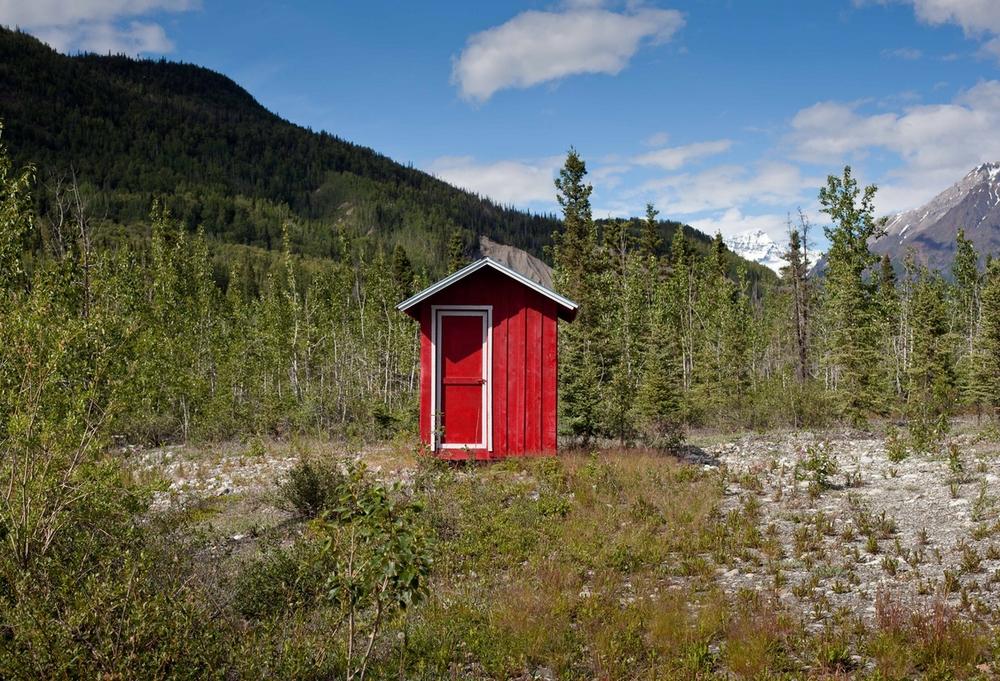 Red Hut - McCarthy, Alaska