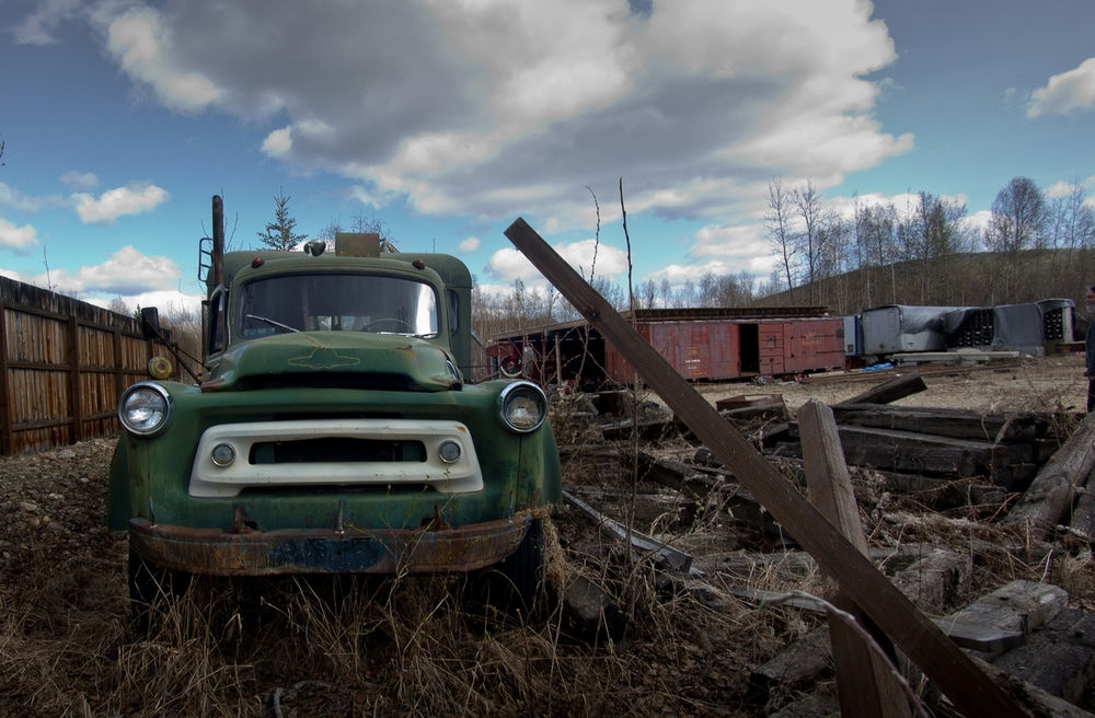 Fairbanks  -  Old Truck.