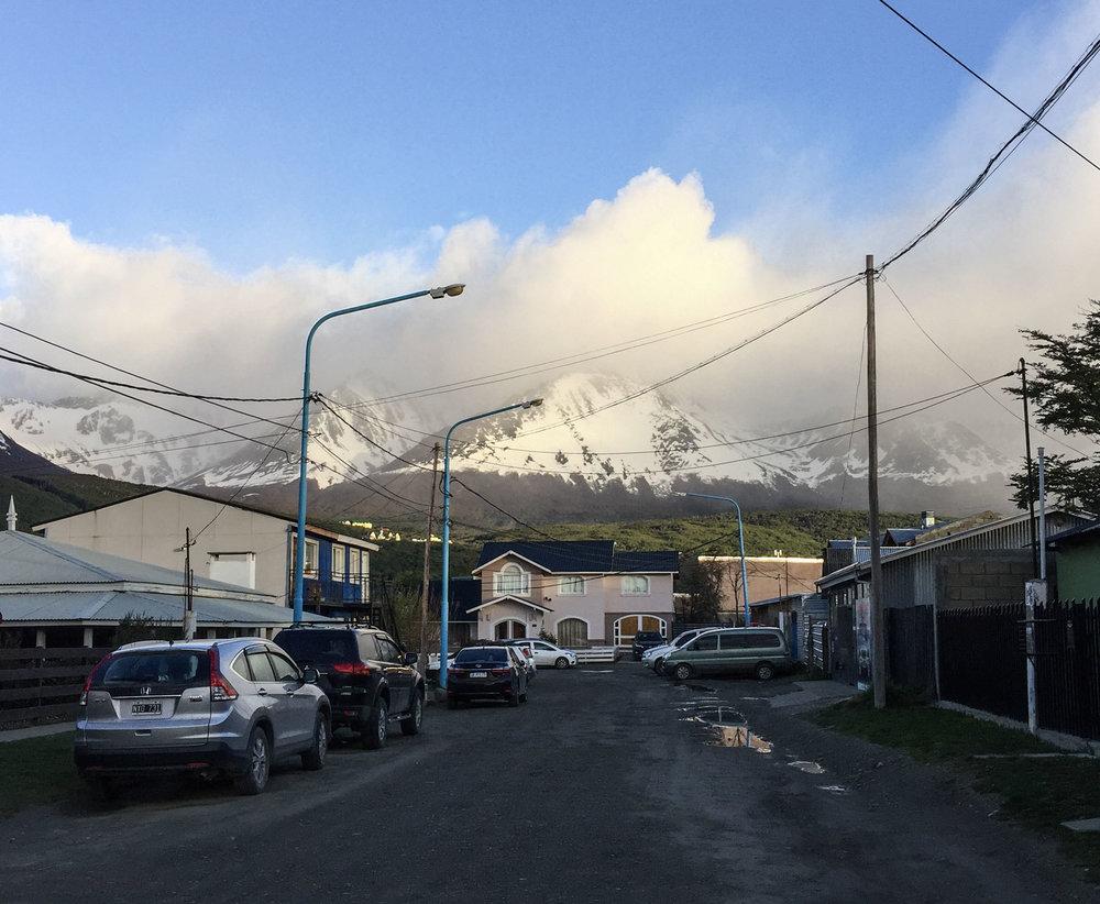Early morning in Ushuaia.... Brrrrrrrrrrrr......