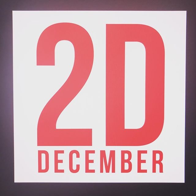 2December ))) eeee congratulations all 2d artist ! It's our day guys ! #2d #december #holiday #artist #concept #winter #redday #element #courses