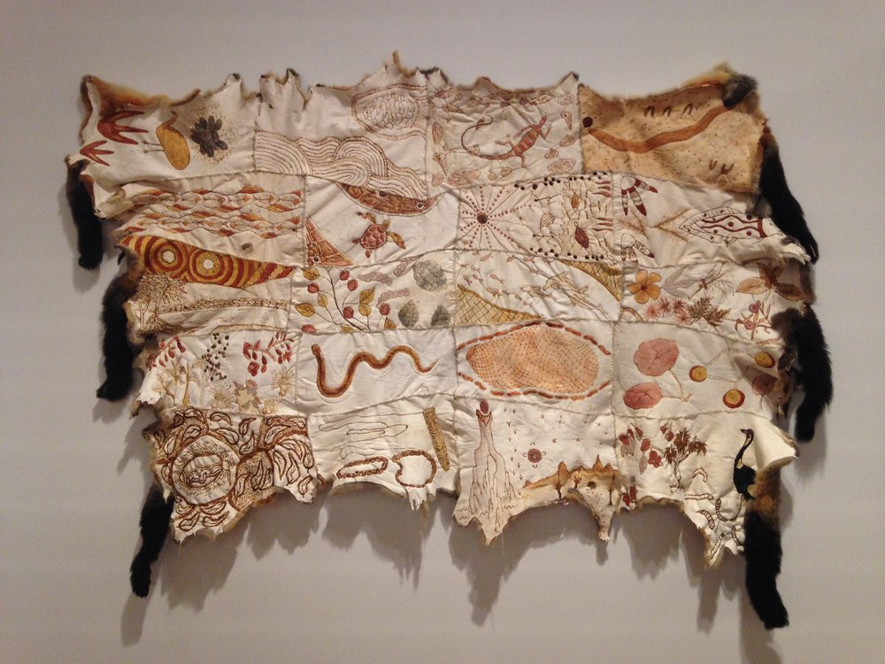 Bush Tucker Cloak_Dominique Chen_© 2017_ Carol McGregor_CAIA_Museum of Brisbane.JPG