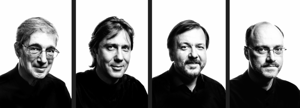 Ruben Aharonian (1st violin), Igor Naidin (viola), Vladimir Balshin ('cello) & Sergey Lomovsky (2nd violin)