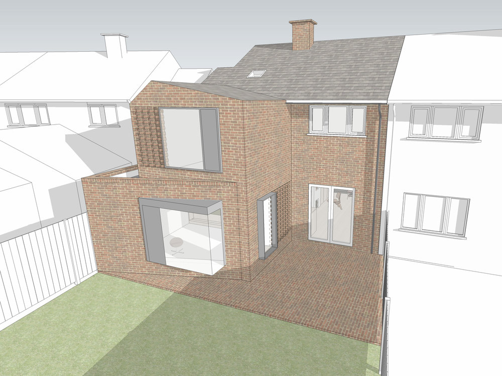 Tristan has steered our new project in St. Albans through planning.  Hope to start construction in May.