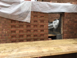 The brick detail on our project in St. Albans is looking good.....