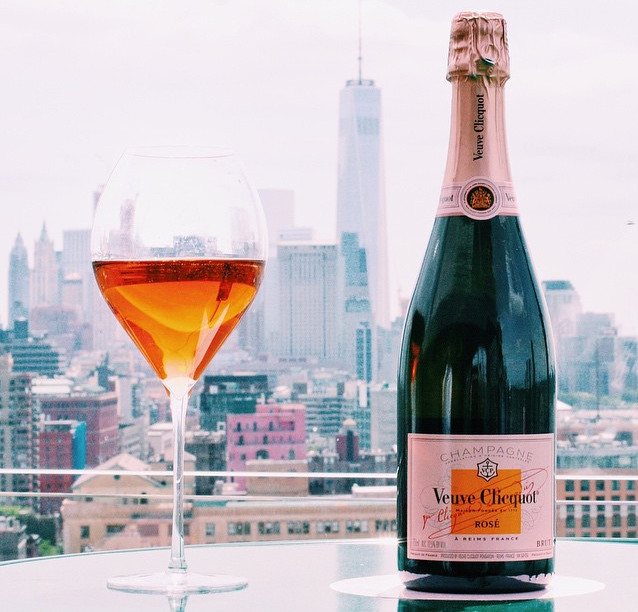 A view made for rose. Photo credits: Veuve Clicquot