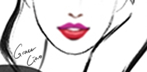 Try This Look! - M.A.C Matte Lipstick D for Danger and Russian Red ORM.A.C Matte Lipstick Candy Yum Yum and So Chaud