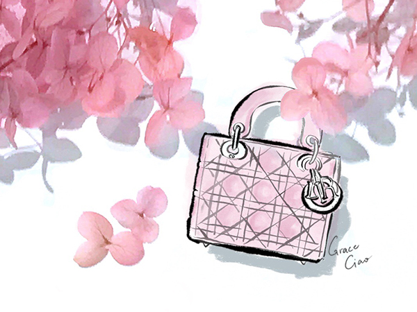 - This bag is closely associated with the late Princess Diana and her elegant sense of style. It's iconic quilted box shaped with playful charms are available in new colours and fabrics every season. I dare you to not feel like a classy empowered woman when you have a Lady Dior in hand.