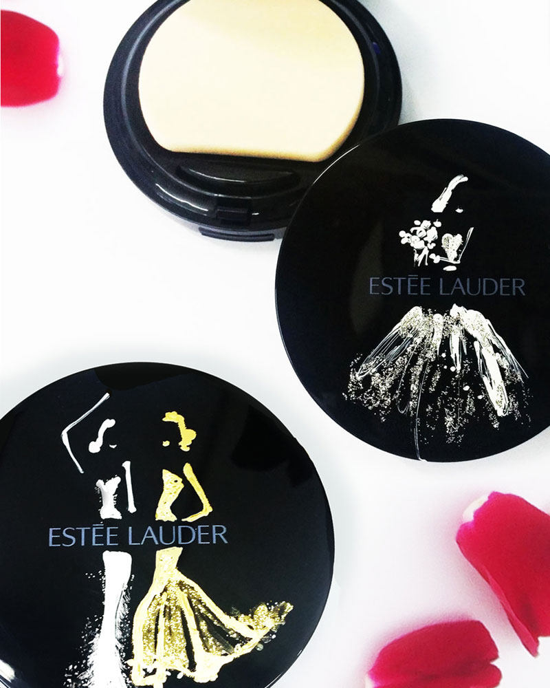 Stickers for Estee Lauder foundation cases - APAC Distribution