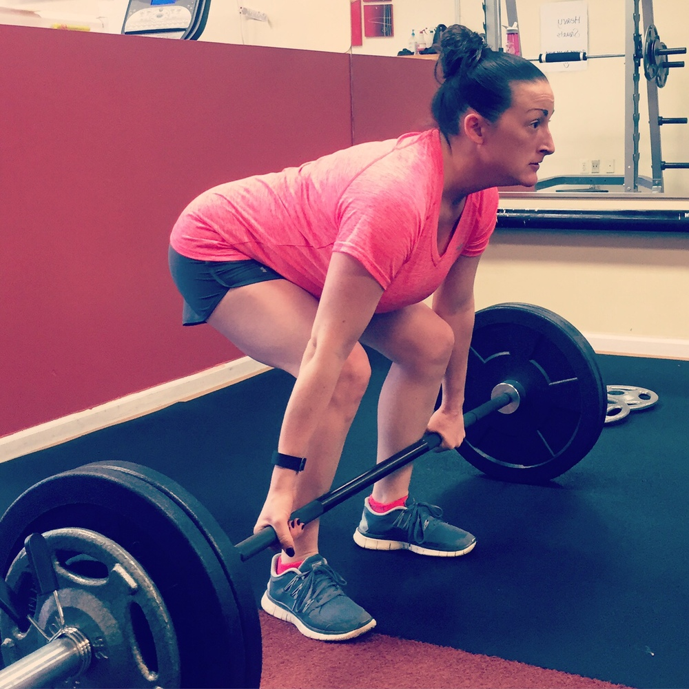Deadlifts are my new FAVORITE thing to do!