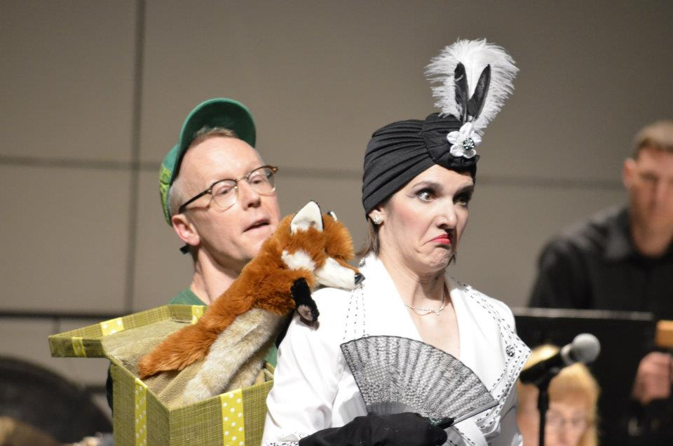 Harrisburg Symphony Orchestra (2012) GREEN EGGS AND HAM Michael as Sam-I-Am Kimberly as Theodora Giselevska