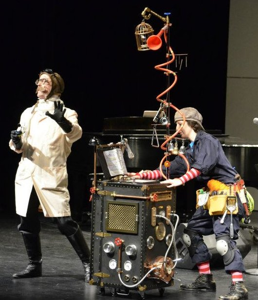 Harrisburg Symphony Orchestra (2012) THE TOY SYMPHONY Michael as Professor Tympanimun  Sara as Francis the mechanic