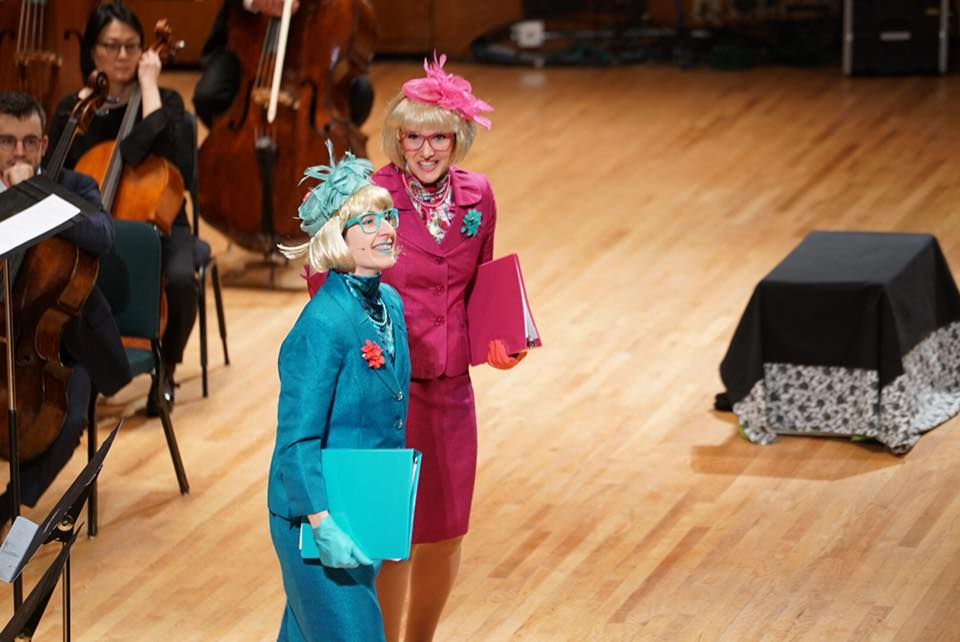 Utah Symphony (2018) GERTRUDE McFUZZ Sara Valentine, featured performer Kimberly Schroeder, featured performer