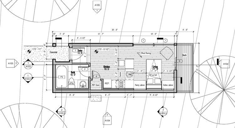 Plan Concept in process william jelen architect