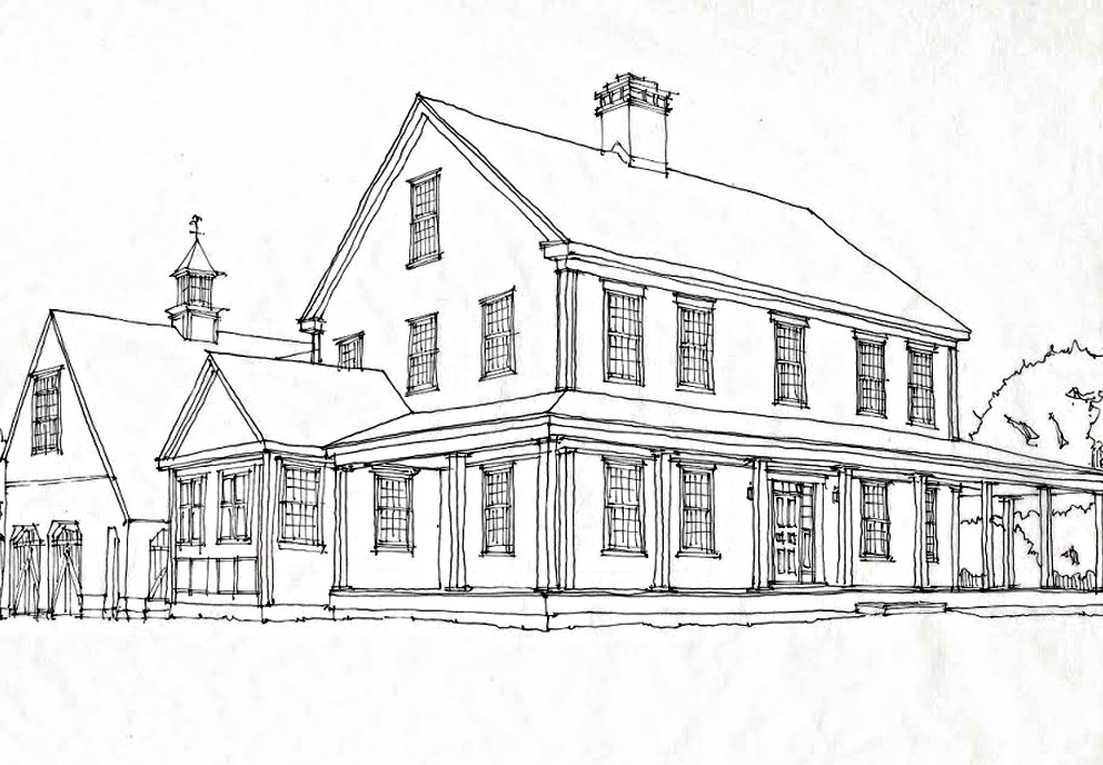 Classic colonial homesclassic colonial homes - Old farmhouse house plans model ...