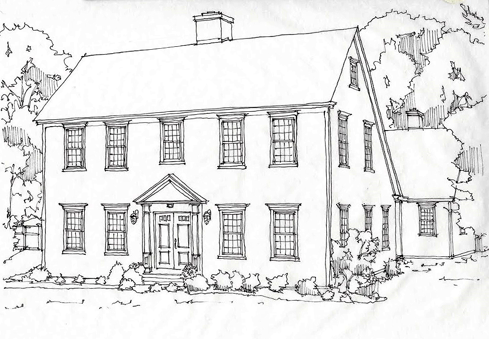 Classic colonial homesclassic colonial homes for Classic house plans