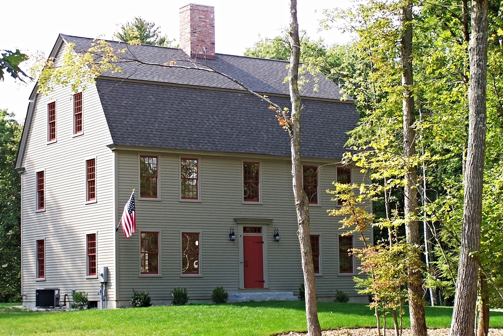 The Gambrel Colonial Exterior Trim and Siding The