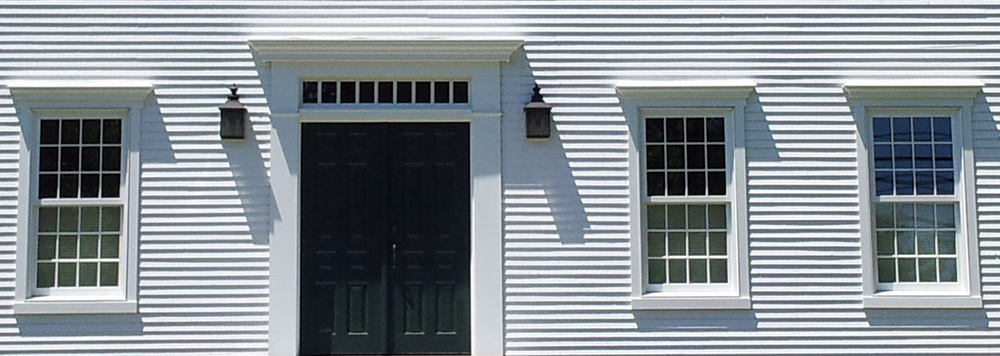 Windows Amp Doors Colonial Exterior Trim And Siding