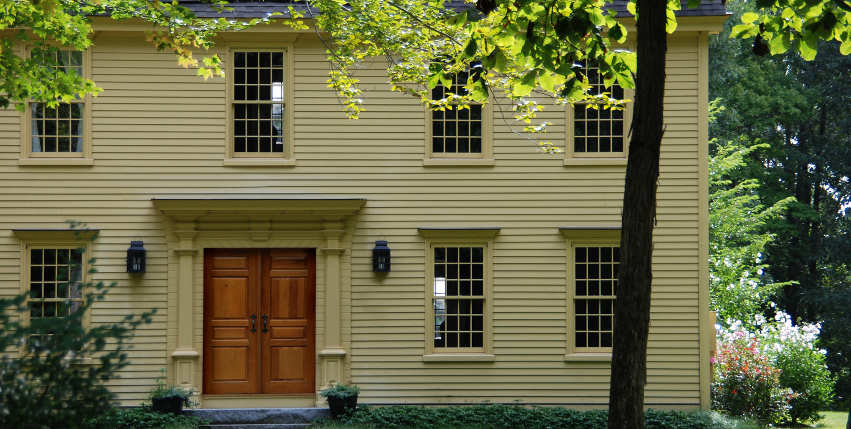 Windows & Doors - Colonial Exterior Trim and Siding Windows ...