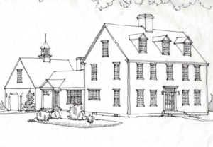 colonial home designs. CCHonline Colonial House Rendering Home Designs  Exterior Trim And Siding