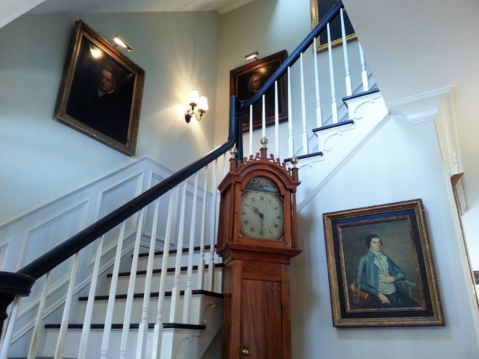 Classic Colonial Homes Interior Stair