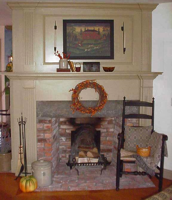 Classic Colonial Homes Interior Fireplace Trim