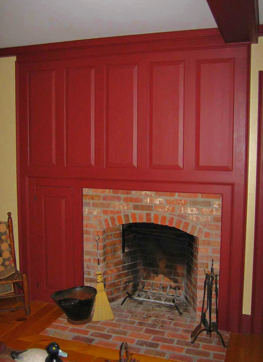 Cape Fireplace Detail