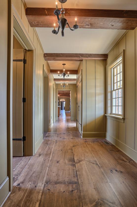 Interiors colonial exterior trim and siding for Classic home interiors