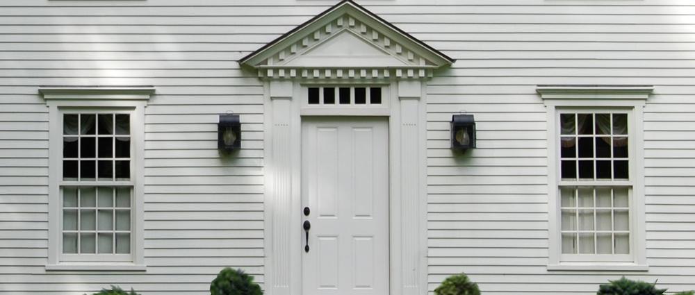 Windows Doors Colonial Exterior Trim And Siding Windows