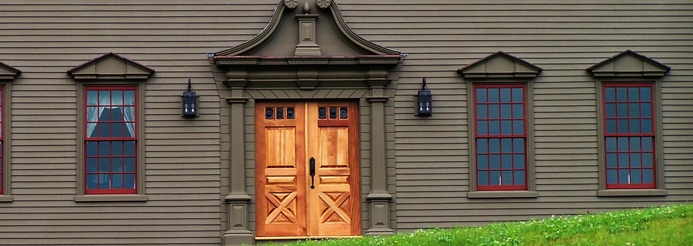 Exterior Door And Window Trim Home Design