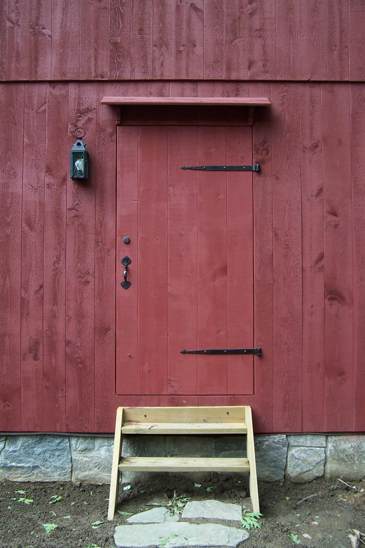 classic colonial barn door