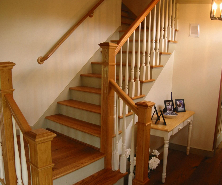 Classic Colonial Homes Interior Entry stair