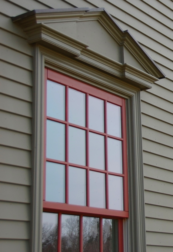 Classic Colonial Homes windows & trim detail