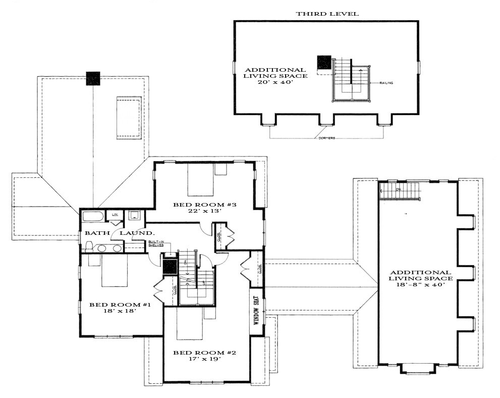 Second & Third Floor Plan