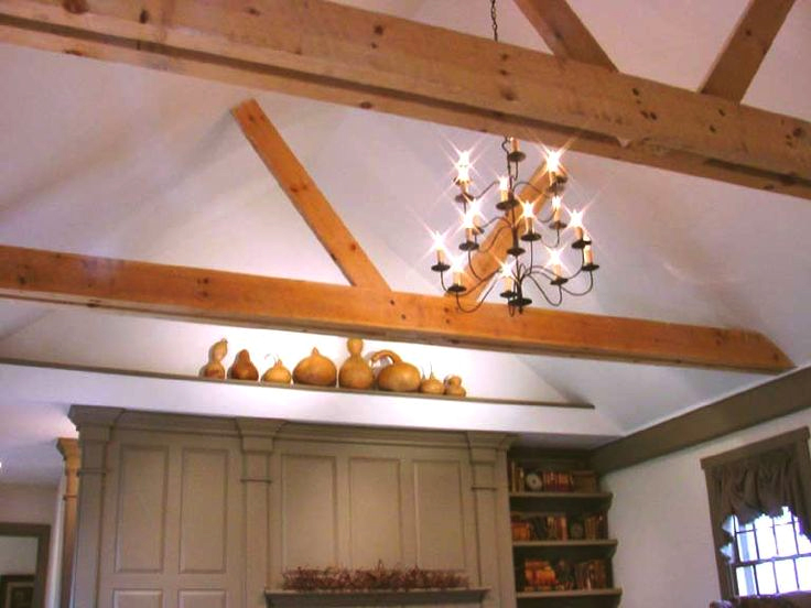 Classic Colonial Homes Interior Exposed Beams