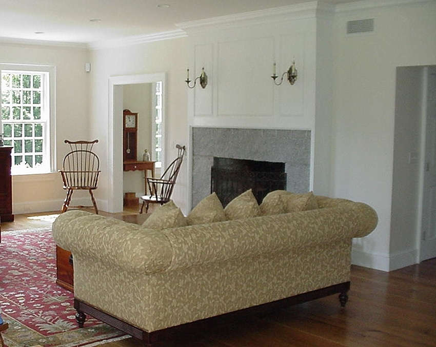 Classic Colonial Homes Federal Living Room