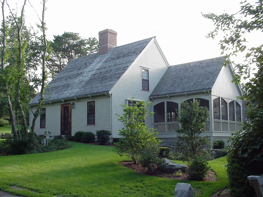 The Cape Colonial Exterior Trim And Siding The