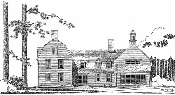 Springfield Gambrel Left Elevation