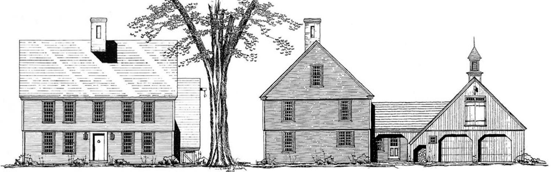Northfield Colonial - Colonial Exterior Trim and Siding Northfield ...