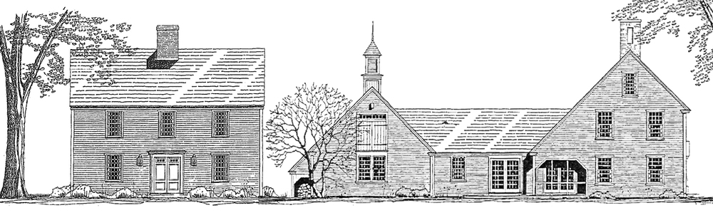 Saltbox house plans home