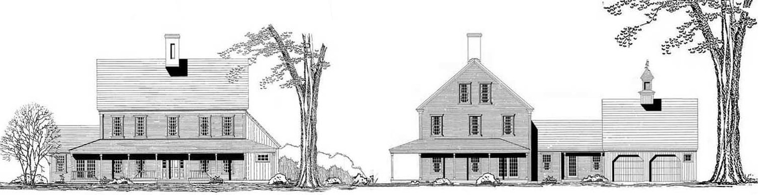 The Farmhouse - Colonial Exterior Trim and Siding The ... on early-1900s house plans, 1900 apartment plans, hoosier cabinet plans,
