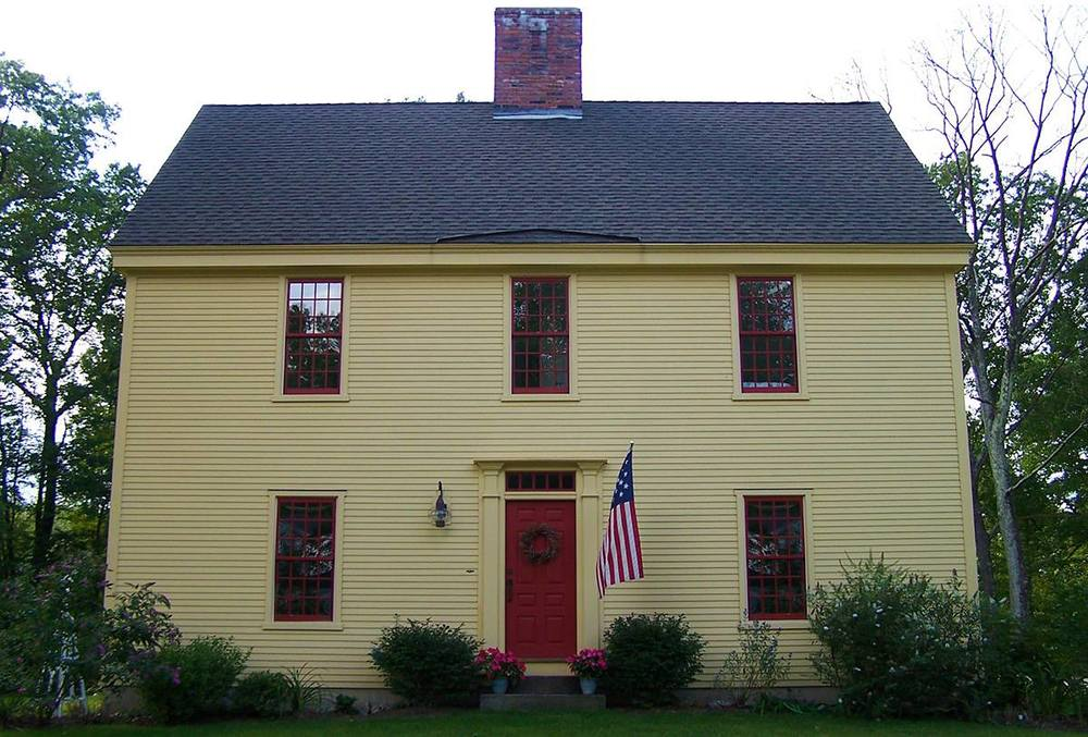 The Saltbox Colonial Exterior Trim And Siding The