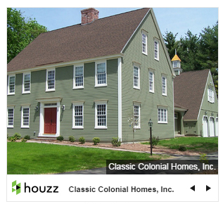 What 39 s new colonial exterior trim and siding what 39 s for Custom colonial homes