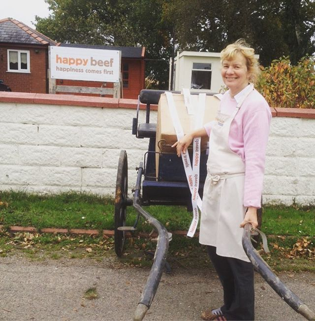We've got a cart but no pony...happy beef will have to find yet another transportation method...3 days to go!!!!! #cheshirelife #happybeef #keto #beef #frodsham #healthyfood