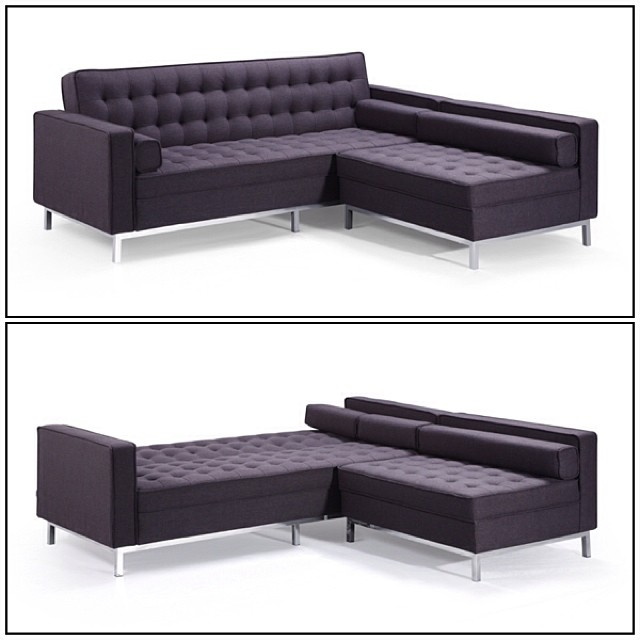 Gustav Bisectional Sofa Bed CONDOSIZE Furniture Blinds