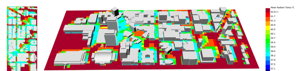 "MRT mapping of Downtown Syracuse.                      Normal   0           false   false   false     EN-US   X-NONE   AR-SA                                                                                                                                                                                                                                                                                                                                                                                                                                                                                                                                                                                                                                                                                                                                                                                                                                                                                     /* Style Definitions */ table.MsoNormalTable 	{mso-style-name:""Table Normal""; 	mso-tstyle-rowband-size:0; 	mso-tstyle-colband-size:0; 	mso-style-noshow:yes; 	mso-style-priority:99; 	mso-style-parent:""""; 	mso-padding-alt:0in 5.4pt 0in 5.4pt; 	mso-para-margin-top:0in; 	mso-para-margin-right:0in; 	mso-para-margin-bottom:8.0pt; 	mso-para-margin-left:0in; 	line-height:107%; 	mso-pagination:widow-orphan; 	font-size:11.0pt; 	font-family:""Calibri"",sans-serif; 	mso-ascii-font-family:Calibri; 	mso-ascii-theme-font:minor-latin; 	mso-hansi-font-family:Calibri; 	mso-hansi-theme-font:minor-latin;}       (Rakha, T., Zhand, P. and Reinhart, C F. ""A framework for outdoor mean radiant temperature simulation: towards spatially resolved thermal comfort mapping in urban spaces,"" In Proceedings of Building Simulation 2017, 07 -09 August, San Francisco: USA)."