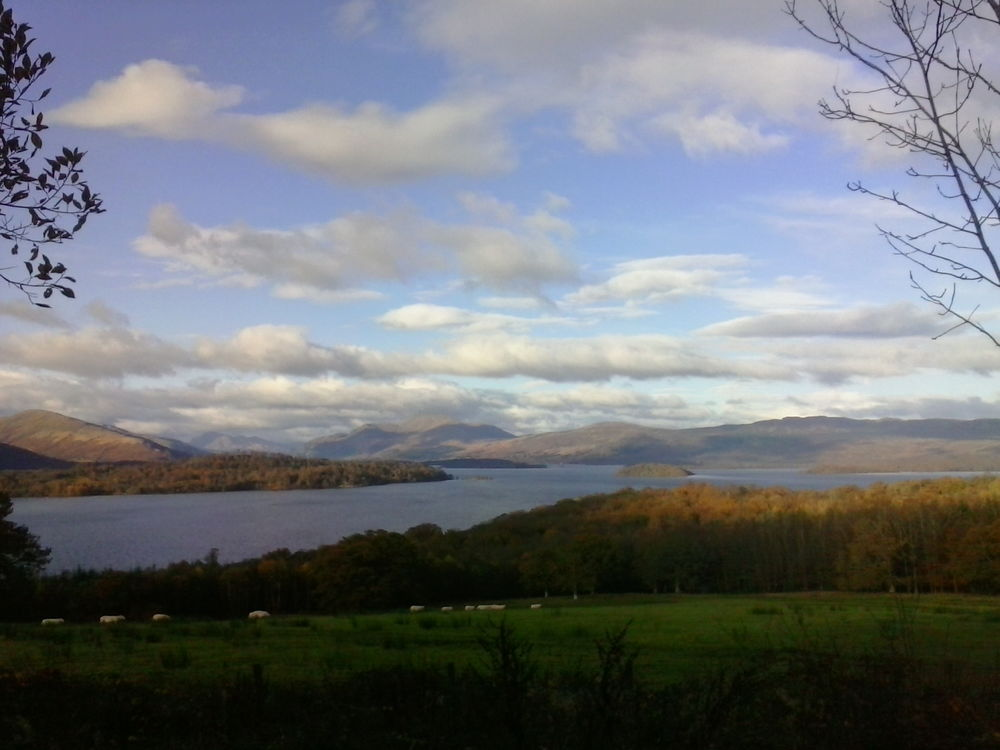 Another view towards Ben Lomond
