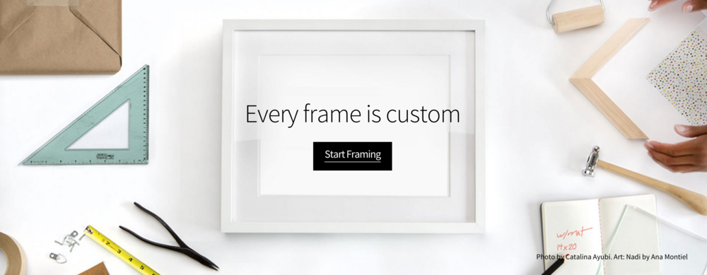 a new way to get your favorite prints and posters framed came across simply framed recently and thought it was a easy and fast way to get those uniquely